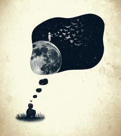 ¿Y si durmieras?  ¿ Y si, en sueños  soñaras?...
