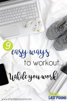 If your work is sedentary, like mine is, you need to find the best ways to workout at work to keep that blood pumping! These are the BEST ways!