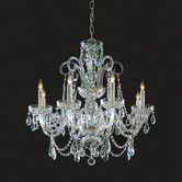 Found it at Wayfair - Crystorama Bohemian Crystal   Candle Chandelier