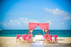 Now Larimar Secrets Royal Beach Wedding Ceremony Wba Studio Photographer Claudia Herrera