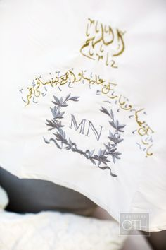 #monogram Photography: Christian Oth Studio - christianothstudio.com  Read More: http://www.stylemepretty.com/2014/07/23/egyptian-red-sea-resort-wedding/