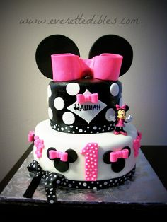 Minnie Mouse Birthday Cake 09/2013 | Flickr - Photo Sharing!