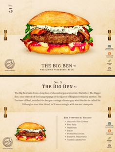 40 Of The Most Delicious-Looking Cheese Burger Combinations Ever - UltraLinx Burger Menu, Gourmet Burgers, Good Burger, Burger Recipes, Food Truck, Nuggets, Delicious Burgers, Cooking Recipes, Healthy Recipes