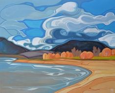 Erica Hawkes acrylic paintings proudly represented by The Lloyd Gallery, Penticton BC Landscape Art, Landscape Paintings, Watercolor Paintings, Landscapes, Impressionist Landscape, Easy Paintings, Acrylic Paintings, Doodle Drawing, Canadian Art