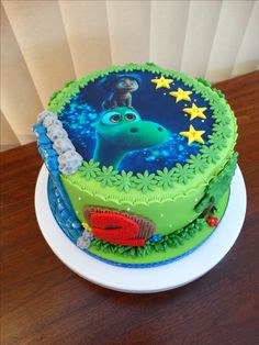 The Good Dinosaur Cake xMCx