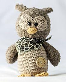 Haakpatroon uil Anna #haken #amigurumi #gehaakt #haakpatroon #uil #crochet…