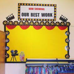 My Hollywood themed classroom display
