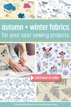 Are you ready to start your autumn and winter sewing? Check out my fabric shop at Spoonflower and find some brand new fabric designs for your sewing! Fabric Shop, Custom Fabric, Fabric Design, Pattern Design, Color Magic, Winter Kids, Sewing Projects, Sewing Ideas, Modern Fabric