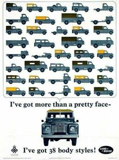 Poster by Anonymous - Land-Rover 38 body styles Poster by Anonymous - Land-Rover 38 body styles! by Anonymous - Land-Rover 38 body styles! Landrover Defender, Defender 90, Land Rover Defender 110, Landrover Series, Land Rovers, Land Rover Car, Auto Rover, Carros Suv, Allroad Audi