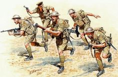 BRITISH ARMY - Fantería bitannica - VIII Armata - Andrey Karashchuk