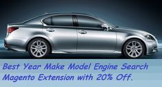 Auto parts #magento extension with 20% off @ http://mage-extensions-themes.com/magento-extensions/year-make-model-engine-professional.html