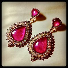 Indian earrings - love it!