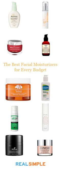RS: top moisturizers.
