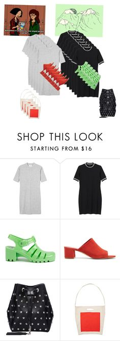 """""""Geenie"""" by youngsoo-123 ❤ liked on Polyvore featuring Monki, JuJu and Mansur Gavriel"""