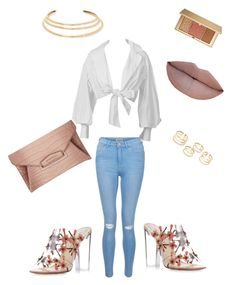 """""""Soft"""" by styledbybrea on Polyvore featuring New Look, Paul Andrew, Estée Lauder, Jeffree Star, Kenneth Jay Lane and Givenchy"""