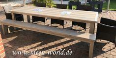 Garten Tisch aus Holz