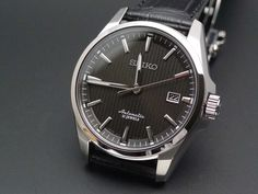 Seiko SARX017.  The SARX is a slightly upmarket version of the SARB (same movement) and SARG.  These are Japan Domestic Market only but you can still get them thanks to the power of the Internet! Link:  http://www.seiyajapan.com/collections/seiko