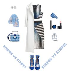 """Pattern Challenge: Stripes!"" by sebolita ❤ liked on Polyvore featuring David Koma, Dolce&Gabbana, Aquazzura, Oscar de la Renta, Frederic Sage, Sisley, Christian Dior, MAKE UP FOR EVER, NARS Cosmetics and Fendi"