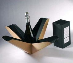 package / Como empacar una botella. creativo.