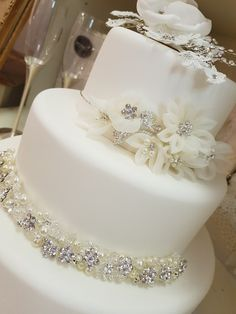 More bling for the cake please