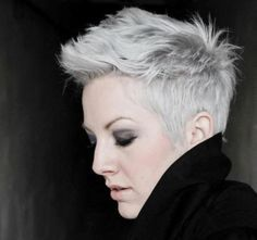 Inspiring grey hair styles for women to try in 20160371