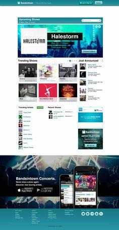 Bandsintown gestisce le date del tuo tour e le sincronizza sul tuo sito web e sui social network. Ti aggiorna sui concerti dei tuoi musicisti preferiti.