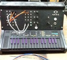 Diabolical Circuit Bent Casio SK-1 custom modular