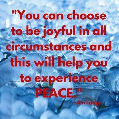 #peace #joy #5feet20 #inspiration