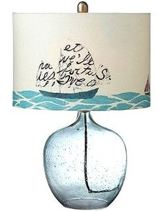 Message In A Bottle Lamp