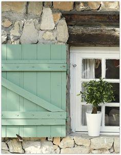 ♕ {build exterior shutters}