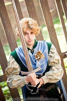 Ser Loras Tyrell by CalamityJade.deviantart.com on @deviantART