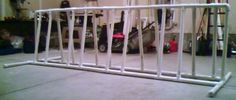 Fat Cyclist » Blog Archive » How To Build A Bike Rack With No Plans, No Skill, and One Tool in About Two Hours