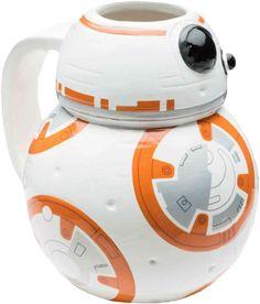 Star Wars Mug | The Force Awakens Mug | BB-8 Ceramic Mug | BB-8 Mug | Popcultcha
