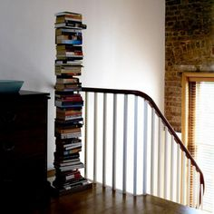 Unusual book storage  What do you think of this tower bookshelf