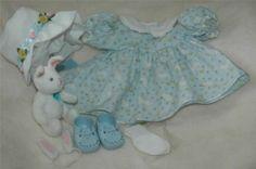 American Girl Bitty Baby Easter Bunny Dress Retired | eBay Girl Dolls, Baby Dolls, Baby Doll Clothes, Bitty Baby, Easter Bunny, American Girl, Summer Dresses, Ebay, Fashion