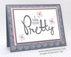 Big on You stamp set and Sheer Perfection Designer Vellum (FREE until March 31,2015). In Canada, get Stampin' Up! at http://tracyelsom.stampinup.net