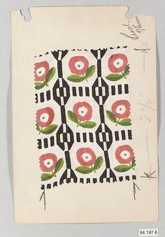 Wiener Werkstätte Fabric, ca. 1920