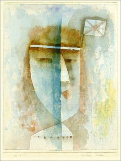 Paul Klee - Beflaggtes Mädchen. 1929.