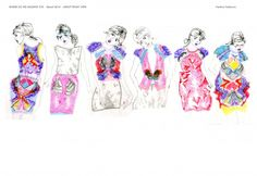 Lineup Vanina Yankova, Nottingham Trent, Fashion Knitwear Design.