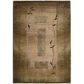 Found it at Wayfair - Generations Green Plant Area Rug