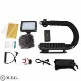 Smartphone Video Rig with Microphone and LED Light Camera Nikon, Rigs, Smartphone, Gadgets, Led, Wedges, Gadget