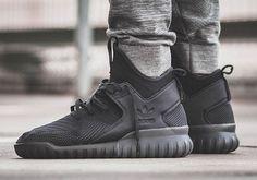 buy online 05bb9 bfd88 sneakers news The adidas Tubular X Primeknit Goes Triple-Black Adidas  Tubular Black