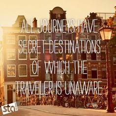Amsterdam - Travel Quotes
