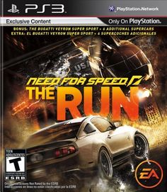 One of my three Need for Speed games that I own.