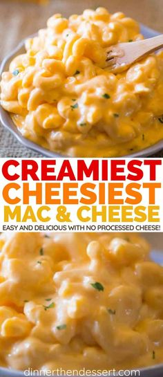 Super Creamy Macaroni and Cheese with no processed cheese in sight, this stovetop version is the perfect homemade creamy macaroni and cheese of your dreams and a perfect holiday side dish! Macaroni Cheese Recipes, Creamy Macaroni And Cheese, Mac And Cheese Homemade, Super Cheesy Mac And Cheese Recipe, Cheesy Pasta Recipes, Macaroni And Cheese Casserole, Super Bowl Party, Buffalo Chicken, Side Dish Recipes