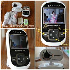 Motorola MBP26 Digital Video Baby Monitor Review #babygear
