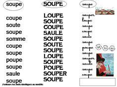 Maternelle: Ah Les bonnes soupes