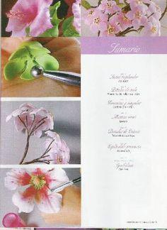 Visita la entrada para saber más Blog, Tutorial, Magazines, China, Miniatures, Fondant Flowers, Roses, Manualidades, Entryway