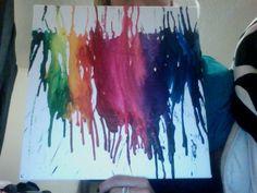 Crayon melt. DIY