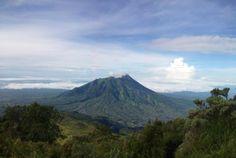 Merapi Mountain, central java, indonesia